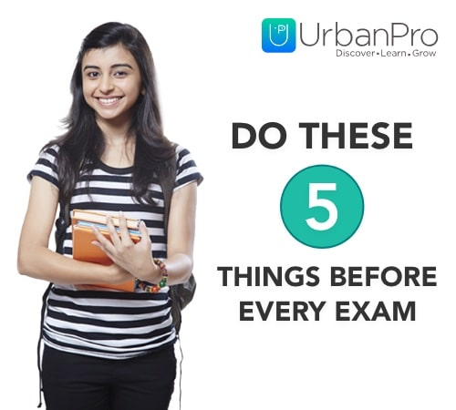 Do these 5 things before every exam