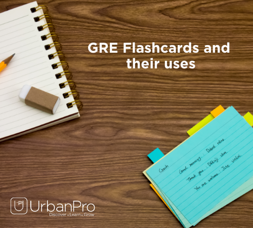 GRE Flashcards and their uses