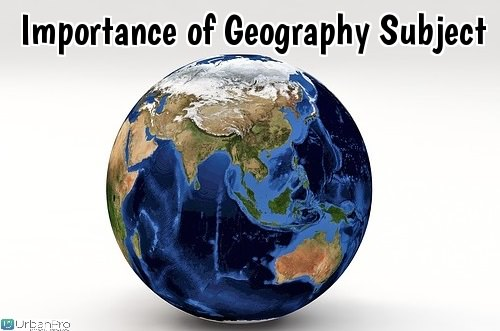 Importance of Geography Subject