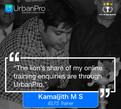 Kamaljith Pro of the month- March 4 week – 1