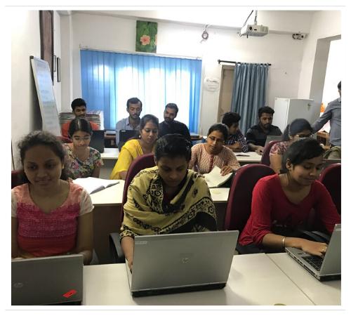Lasya Infotech of institute Class room image 3