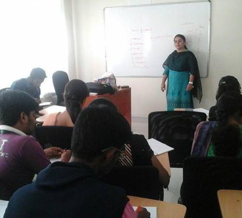 Mamatha TV in a class