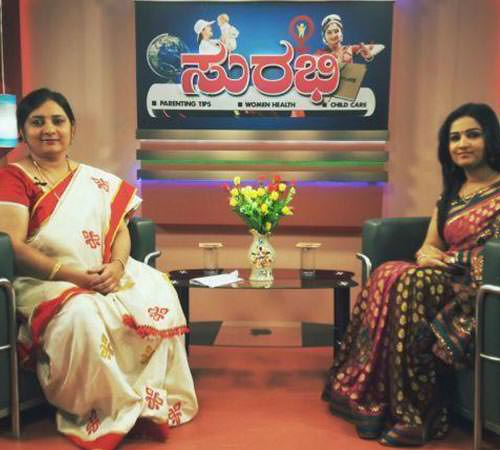 Mamatha TV, in a TV show