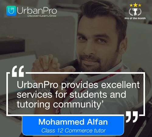Mohammed Alfan Pro of the month- September 3 week