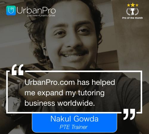 Nakul Gowda Pro of the month- February 3rd week