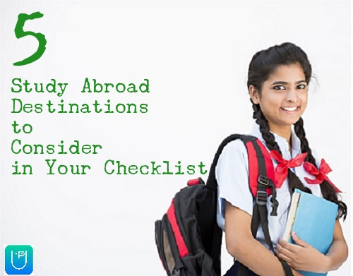 5 Study Abroad Destinations to Consider in Your Checklist