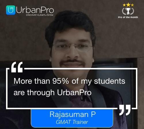 Rajasuman P_4 week quote -- New