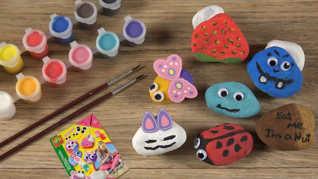 Rock painting for kid