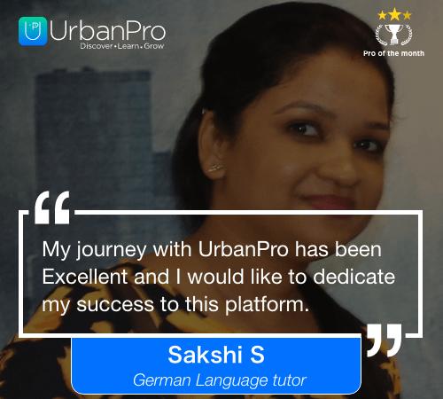Sakshi S Pro of the month- JUly 3 week