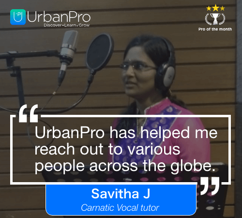 Savitha J Pro of the month- may 4 week