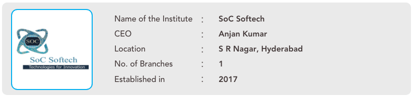 SoC Softech ceo information -- 3.1 -- 1