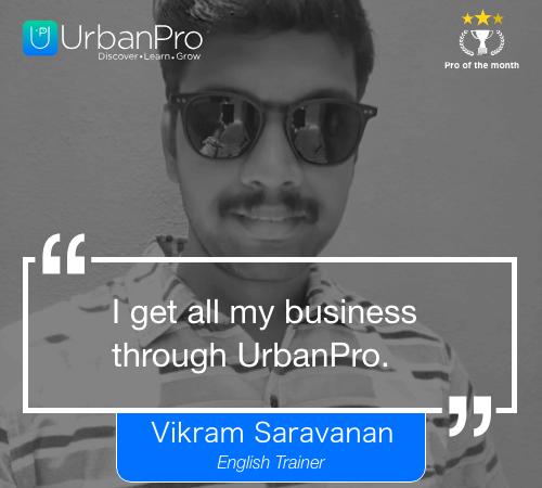 Vikram Saravanan_2 week quote – 1