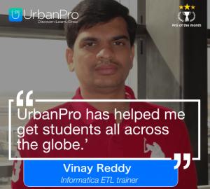 Vinay Reddy of the month- Nov 3 week – 1