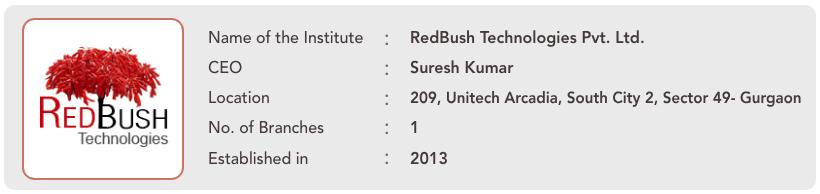 RedBush Technologies Pvt. Ltd. Info