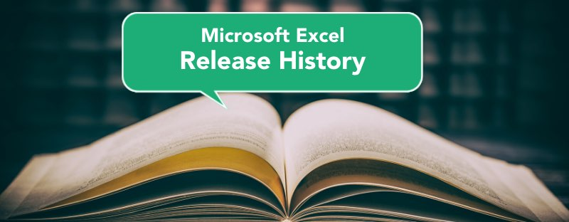 ms excel release
