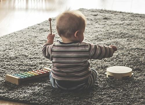 Music helps cultivates fine motor skills to a child