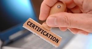online certified
