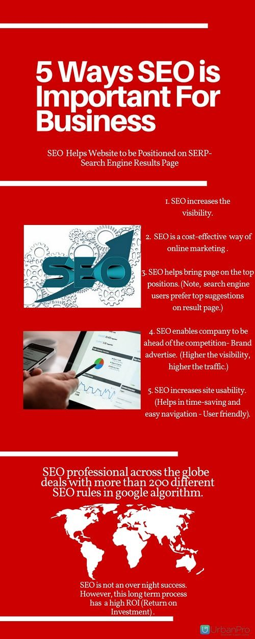 5 Ways SEO is Important For Business