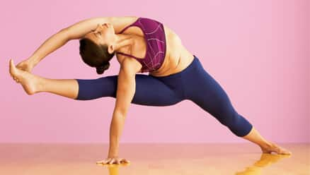 Twisting Roaring Yoga Pose