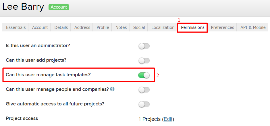 Granting task list template permissions to users teamwork when you have toggled this on or off remember to select the green update option to the bottom of the box pronofoot35fo Image collections