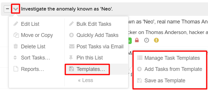 Granting task list template permissions to users teamwork note once you enable this permission it will allow template access for all projects the user has access to pronofoot35fo Image collections