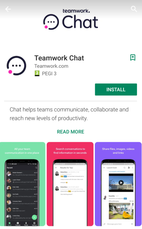 Downloading the Teamwork Chat Mobile App - Teamwork Chat Support