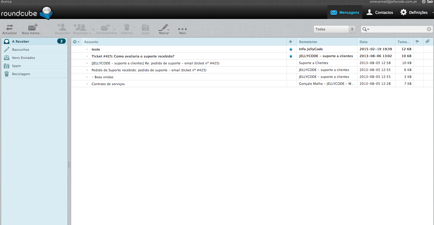 Webmail JELLYCODE