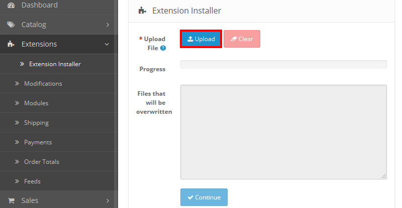 How to install the OpenCart extension - Exit Bee Support