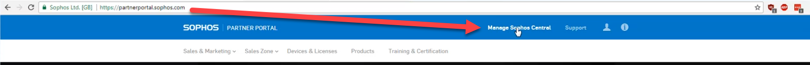 add exclusions in sophos central