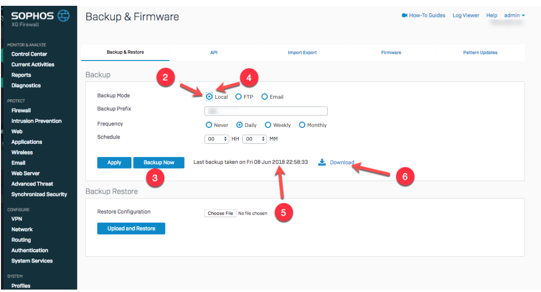 Adding Users to the Local Security Database on your Sophos XG