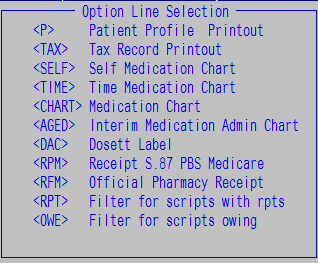 how can i generate an official pharmacy receipt merlin support