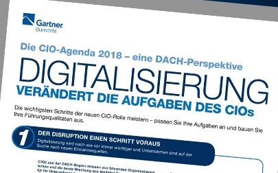 Gartner CIO & IT Executive Summit // 3.-4. Mai, München