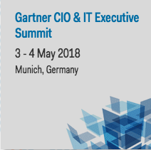 Gartner CIO & IT Executive Summit // 3.-4. May, Munich
