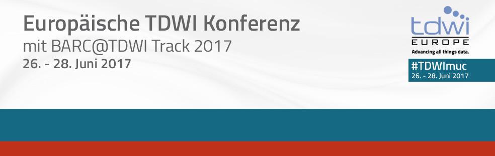 TDWI Konferenz // 26.-28. Juni, München