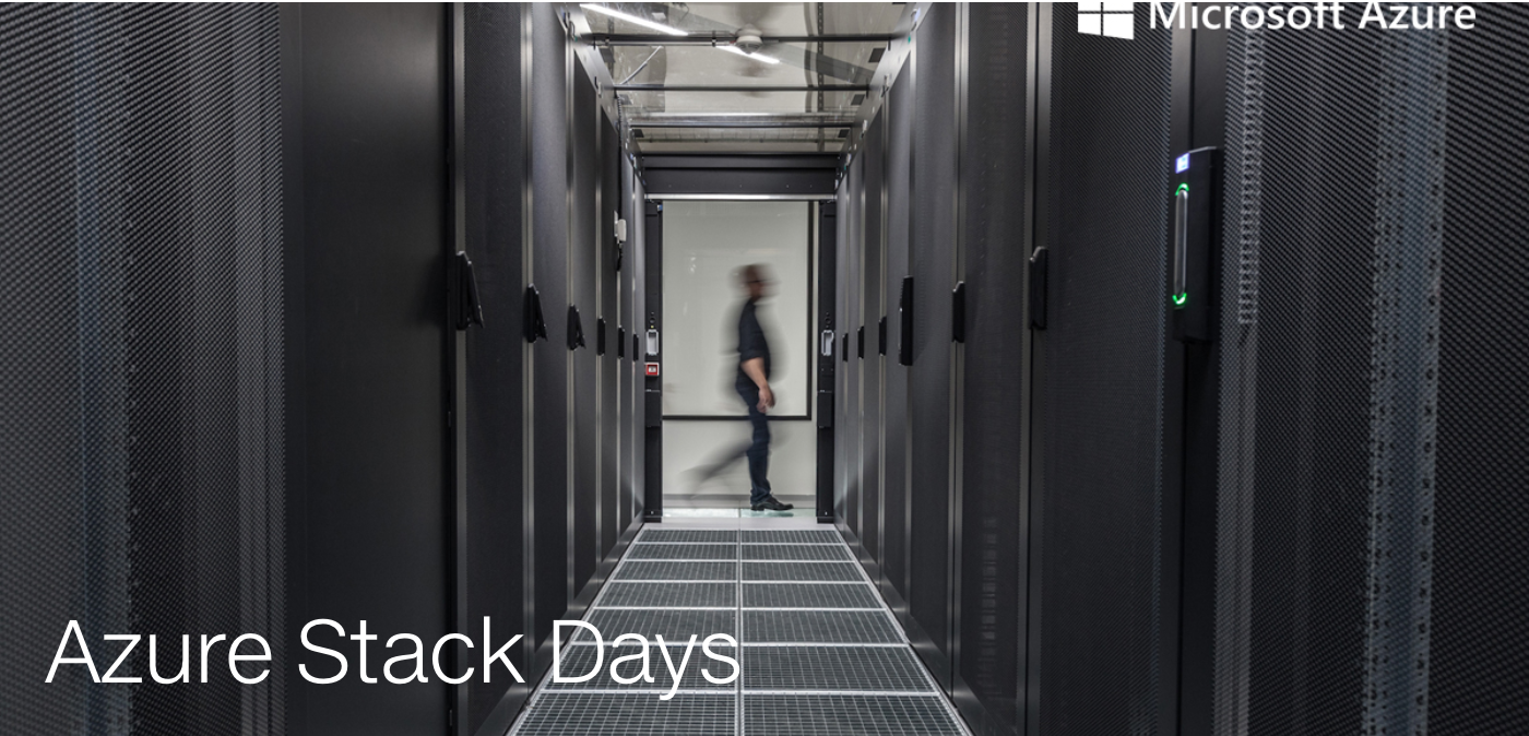 Azure Stack Days // 25.-26. April, Berlin