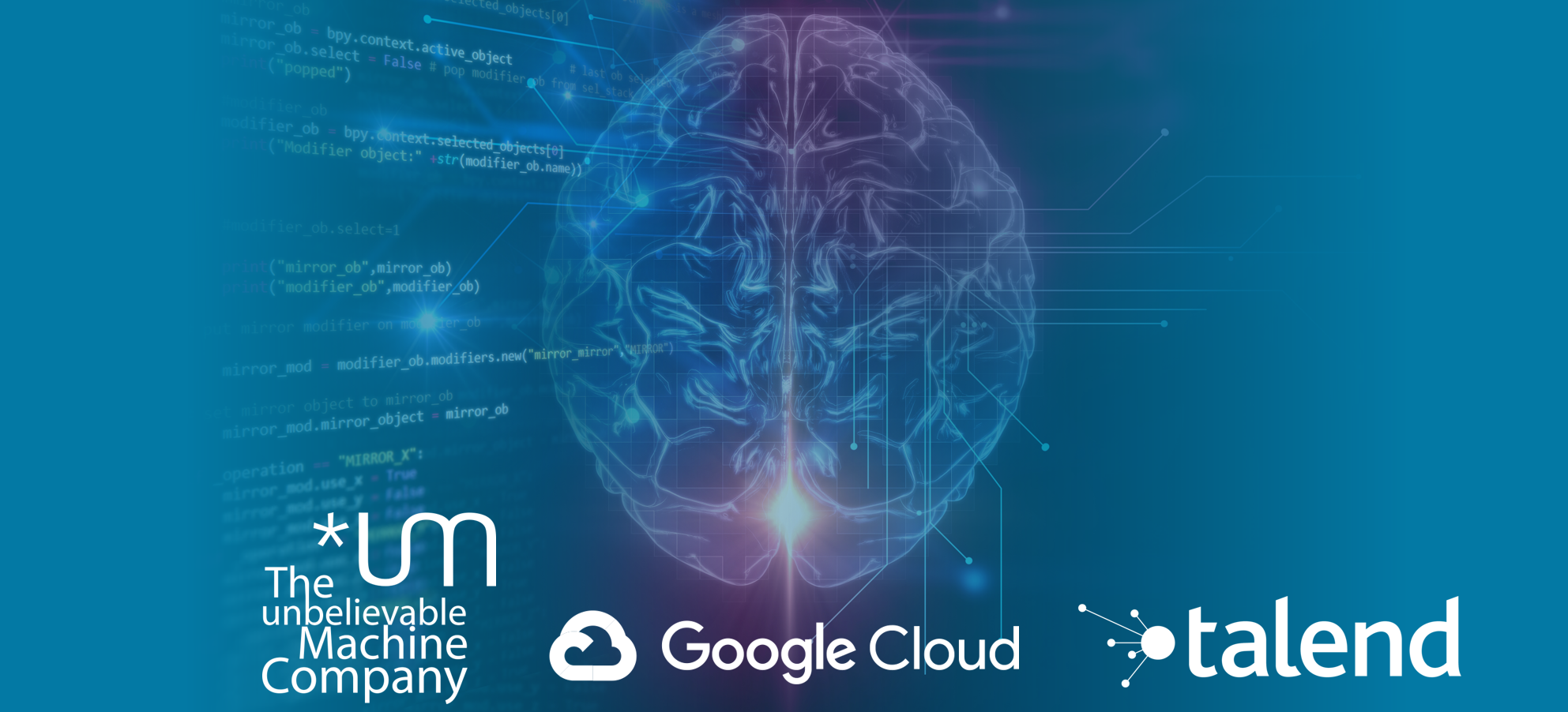 AI in Action | *um with Google and Talend // December 6, Hamburg