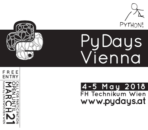 PyDays // 4.-5. May, Vienna