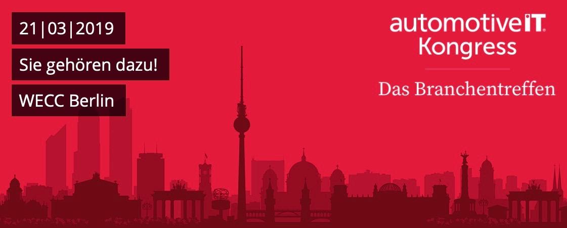 automotiveIT Kongress 2019 // 21. März, Berlin