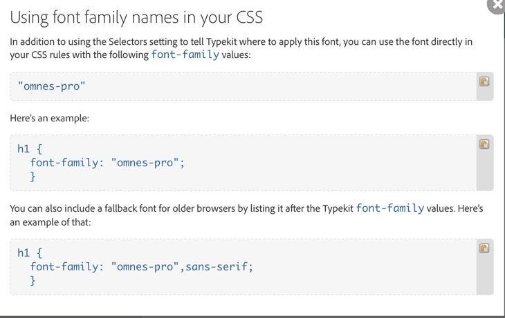 Using Adobe Typekit with Gantry5 in Your Joomla Website
