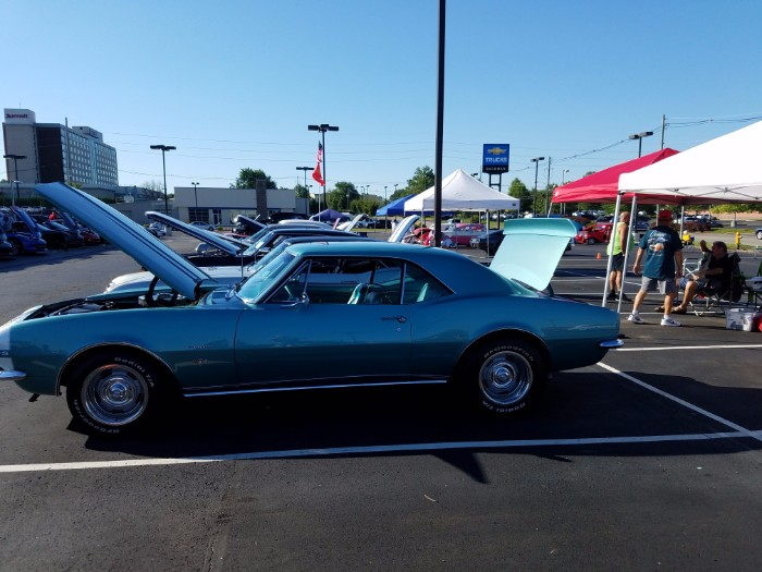 Making a Difference During the 2017 Open Car Show