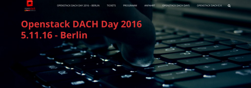Openstack DACH Day 2016