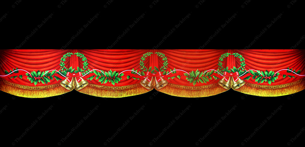 Victorian Crimson Holiday Header