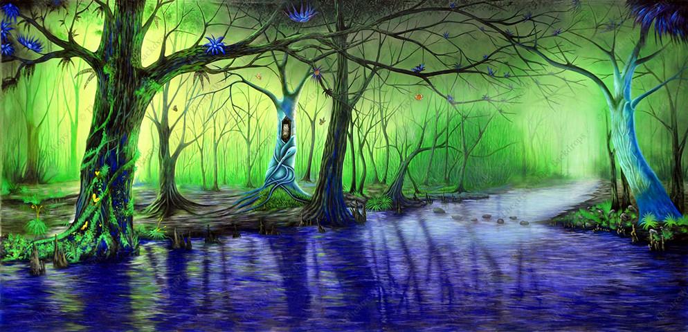 Whimsical Swamp