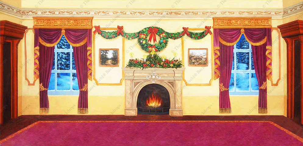 Victorian Parlor Christmas - C
