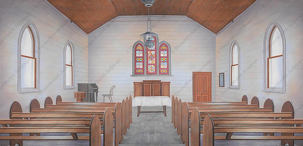 Quiet Chapel Interior