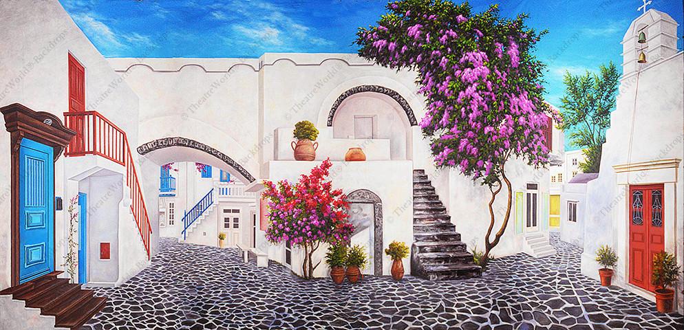 Mediterranean Courtyard - B