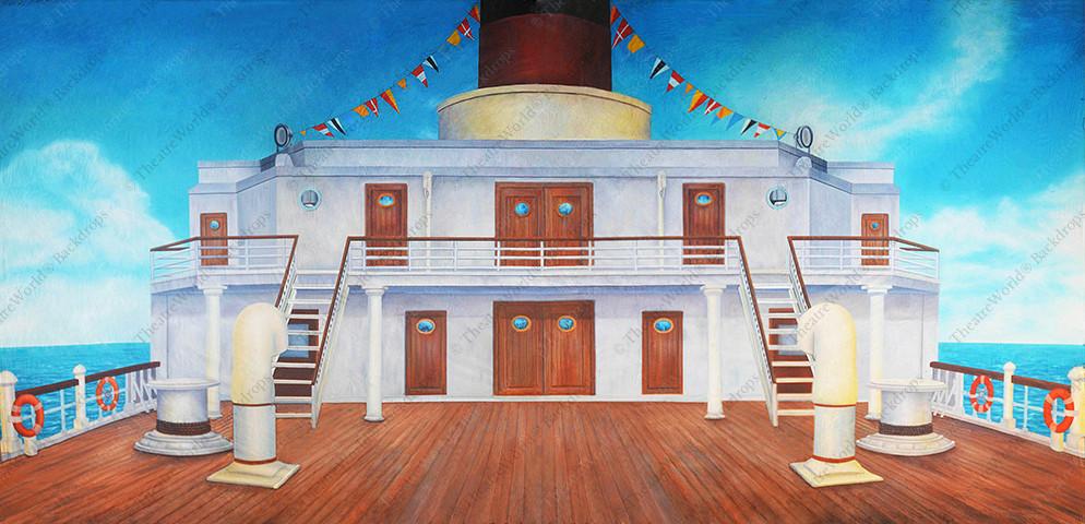 Cruise Ship Deck - B