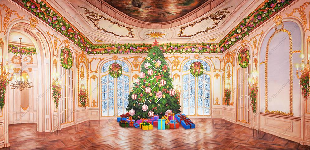 Garden Ballroom Christmas - B