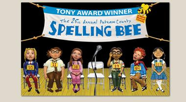 25th Annual Putnam County Spelling Bee Logo