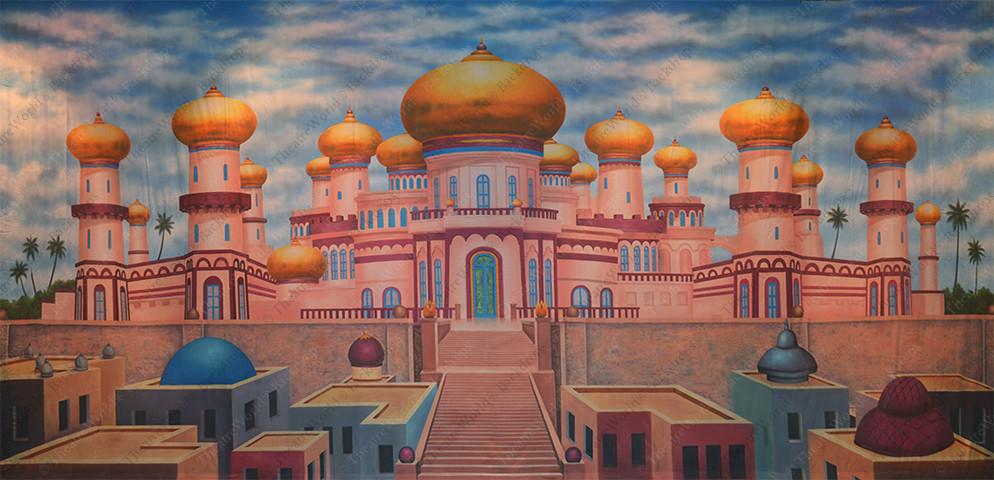 Agrabah Palace Exterior